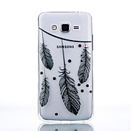 For Samsung Galaxy etui Transparent Etui Bagcover Etui Fjer Blødt TPU for Samsung J7 J5 (2016) J5 J3 (2016) Grand Prime Core Prime