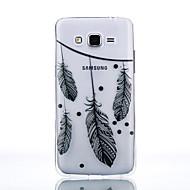 Voor Samsung Galaxy hoesje Transparant hoesje Achterkantje hoesje Veer Zacht TPU SamsungJ7 / J5 (2016) / J5 / J3 (2016) / Grand Prime /