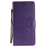 For Samsung Galaxy Note7 Kortholder Pung Med stativ Flip Præget Etui Heldækkende Etui Mælkebøtte Blødt Kunstlæder for SamsungNote 7 Note
