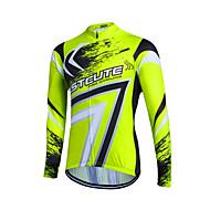 Esportivo® Camisa para Ciclismo Mulheres / Homens / Crianças / Unissexo Manga CompridaRespirável / Secagem Rápida / Zíper Frontal / Fecho