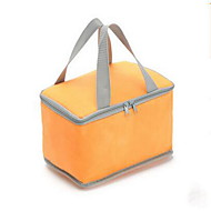 Professional Custom Non-Woven Candy Color Square Lunch Bag Cooler Bag Oxford Cloth Insulation Package Takeaway