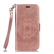 PU Leather Material Datura Flowers Pattern Painted Phone Sets for Samsung Galaxy S7 Edge S7 S6 Edge S6 S5