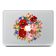 Color Flower Decorative Skin Sticker Decal for MacBook Air/Pro/Pro with Retina