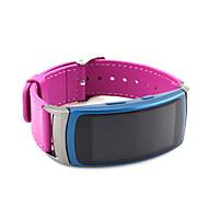 Piros / Fekete / Zöld / Kék / Barna / Szürke Bőr Sportszíj Mert Samsung Galaxy Óra 20mm
