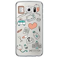 Για Samsung Galaxy S7 Edge Εξαιρετικά λεπτή / Ημιδιαφανές tok Πίσω Κάλυμμα tok Πλακίδια Μαλακή TPU SamsungS7 edge / S7 / S6 edge plus /
