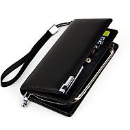 Pour Coque iPhone 7 / Coques iPhone 7 Plus / Coque iPhone 6 Portefeuille / Porte Carte / Clapet Coque Bolsa Coque Couleur Pleine DurCuir