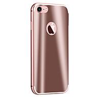 For iPhone 7 etui iPhone 6 etui iPhone 5 etui Belægning Spejl Etui Bagcover Etui Armeret Hårdt Metal for AppleiPhone 7 Plus iPhone 7