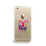 のために iPhone 7ケース / iPhone 7 Plusケース / iPhone 6ケース 超薄型 / パターン ケース バックカバー ケース クリスマス ソフト TPU AppleiPhone 7プラス / iPhone 7 / iPhone 6s Plus/6