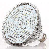 HRY E27 120LED 78Red24Blue6White6IR6UV Full Spectrum Led Grow Light Bulb(AC85-265V)
