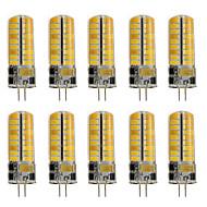 3 G4 LED Φώτα με 2 pin T 72 SMD 2835 460 lm Θερμό Λευκό / Ψυχρό Λευκό Διακοσμητικό AC 12 V 10 τμχ