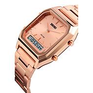 SKMEI Αντρικά Αθλητικό Ρολόι Ψηφιακό ρολόι ΨηφιακόLCD Ημερολόγιο Ανθεκτικό στο Νερό Διπλές Ζώνες Ώρας Τριπλές Ζώνες Ώρας συναγερμού