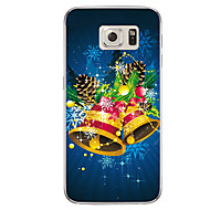For Samsung Galaxy S7 S7 Edge Christmas Bell TPU Soft Case Cover S6 Edge Plus
