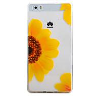 Mert Minta Case Hátlap Case Virág Puha TPU HuaweiHuawei P9 / Huawei P9 Lite / Huawei P8 Lite / Huawei Y635 / Huawei S6 / Honor 4A /