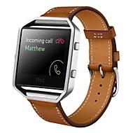 Wytrzymała obudowa metalowa rama z luksusowych zegarka wymiany paska na nadgarstek band dla Fitbit blasku