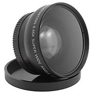 52mm 0.45x objectif grand angle macro pour canon d5000 d5100 d3100 d7000 D3200 d80 caméra d90 dslr