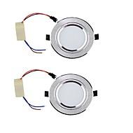LED-neerstralers Warm wit / Koel wit LED 2 stuks