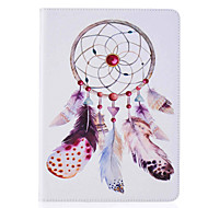Dreamcatcher Pattern Painted PU Leather Material Card Flat Shell for  ipad Air  Air 2