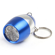 Lights Key Chain Flashlights LED 50 Lumens 1 Mode LED CR2016 Small Size Camping/Hiking/Caving / Everyday Use Aluminum alloy