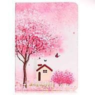 Για Πορτοφόλι / Θήκη καρτών / με βάση στήριξης / Με σχέδια tok Πλήρης κάλυψη tok Δέντρο Σκληρή Συνθετικό δέρμα SamsungTab E 9.6 / Tab A