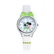 KEZZI Kids' Fashion Watch Wrist watch Casual Watch Casual Watch Quartz Japanese Quartz PU Band Cartoon Casual White Blue Red Pink Purple