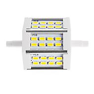 10W R7S LED projektorok Cső 24 SMD 5730 880 lm Meleg fehér / Hideg fehér Dekoratív V 1 db.