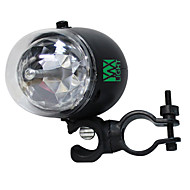 YWXLight LED 7-Pattern Colorful Bicycle Disco DJ Effect Stage Light RGB Crystal Mini Rotating Magic Ball Light for Outdoor Dance Floor Live
