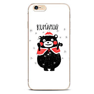 For Pattern Case Back Cover Case Cartoon  Bear Soft TPU for iPhone 7 7 Plus 6s 6 Plus SE 5s 5 4s 4 5C