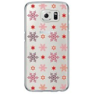 For Samsung Galaxy S7 S7 Edge Cartoon Christmas Pattern Soft Ultra-thin TPU Back Cover S5 S6 S6 Edge