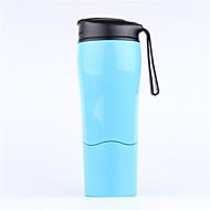 1 db Bögre / csésze Hordozható Ivóeszközök és evőeszközök utazásokra mert Hordozható Ivóeszközök és evőeszközök utazásokraFehér Fekete
