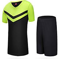 Conjuntos de Roupas/Ternos(Azul Lago) - deEsportes Relaxantes / Badminton / Futebol-Homens-Impermeável / Respirável / Mantenha Quente /