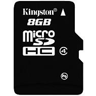 Kingston 8GB マイクロSDカードTFカード メモリカード CLASS4
