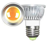5W E26/E27 LEDスポットライト 1 COB 600 lm 温白色 / クールホワイト 明るさ調整 交流220から240 / AC 110-130 V 2個
