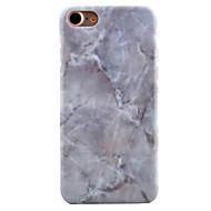 のために パターン ケース バックカバー ケース マーブル ハード PC のために Apple iPhone 7プラス / iPhone 7 / iPhone 6s Plus/6 Plus / iPhone 6s/6