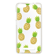 Voor wiko lenny 3 zonsondergang 2 case cover ananas patroon achterkant zachte tpu lenny 3 zonsondergang 2