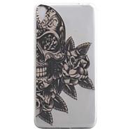 Sony xperia e5 xa -kotelon kansi kallo kukka kuvio korkea läpäisevyys maalaus tpu materiaali puhelimen kotelo
