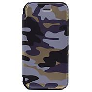 Varten Lomapkko / Korttikotelo Etui Kokonaan peittävä Etui Armeijatyyli Kova Tekonahka varten AppleiPhone 7 Plus / iPhone 7 / iPhone 6s