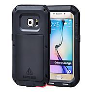 Για Samsung Galaxy Θήκη Νερού / Dirt / Shock Απόδειξη tok Πλήρης κάλυψη tok Πανοπλία Μεταλλικό Samsung S6 edge