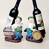 Vinreoler Træ,17*12*22CM Vin Tilbehør