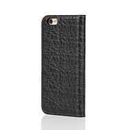Fierre Shann Genuine Leather Wallet Flip Case With Card Slot for Iphone 7 7Plus 6s 6plus Premium crocodile Pattern Gift Box
