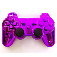 Plating  Wireless Joystick Bluetooth DualShock3 Sixaxis Rechargeable Controller gamepad for PS3