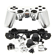 Replacement Controller Case Assembly Kit Set for PS3 Controller