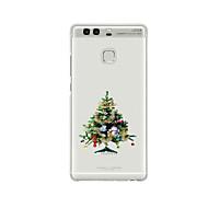 Mert Minta Case Hátlap Case Karácsony Puha TPU mert HuaweiHuawei P9 / Huawei P9 Lite / Huawei P9 Plus / Huawei P8 / Huawei P8 Lite /