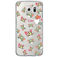 For Samsung Galaxy S7 S7 Edge Cartoon Pattern Soft Ultra-thin TPU Back Cover S4 S5 S6 S6 Edge S6 Edge Plus