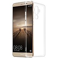 Mert Átlátszó Case Hátlap Case Egyszínű Puha TPU mert HuaweiHuawei P9 Huawei P9 Lite Huawei P9 Plus Huawei P8 Huawei P8 Lite Huawei Mate