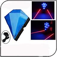 Eclairage de Vélo / bicyclette / Lampe Arrière de Vélo / Eclairage sécurité vélo / Ecarteur de danger LED / Laser - CyclismeEtanche /