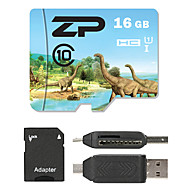 ZP 16GB Tarjeta TF tarjeta Micro SD tarjeta de memoria UHS-I U1 Clase 10