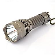 Valaistus LED taskulamput LED 1200 Lumenia 5 Tila LED 26650 Säädettävä fokus Vedenkestävä Kompakti koko Erityiskevyet