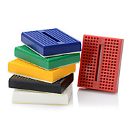 6stk 170 slips punkt mini solderless prototype breadboard / protoboard
