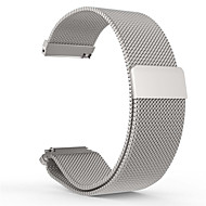 Milanese Loop Watch Band Stainless Steel Magnetic Bracelet Strap for 20mm Pebble Time Round