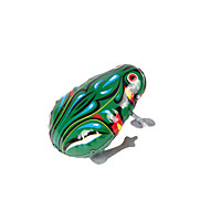 Wind-up Toy Novelty Toy Novelty Frog Metal Green For Boys For Girls
